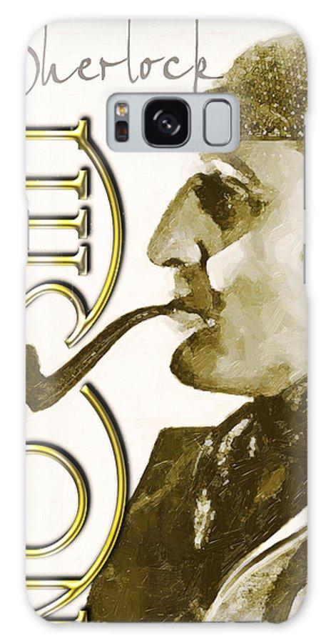 Sherlock Galaxy S8 Case featuring the digital art Sherlock You Dont Say by Paul Moore