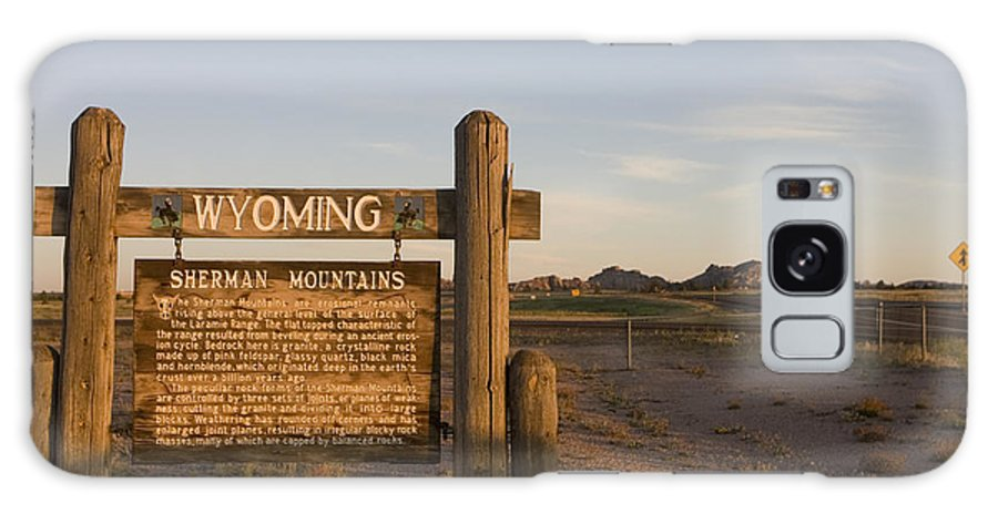 Wyoming Galaxy S8 Case featuring the photograph Sherman Mountains Wyoming by Jason O Watson