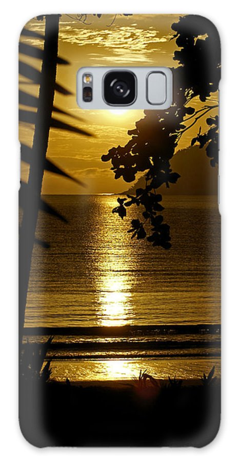 Landscapes Galaxy Case featuring the photograph Shimmer by Holly Kempe