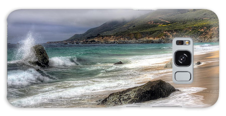 Big Sur Galaxy S8 Case featuring the photograph Shores Of Big Sur by Shawn Everhart