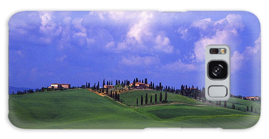 Siena Galaxy S8 Case featuring the digital art Siena Italy by Ronald Jansen