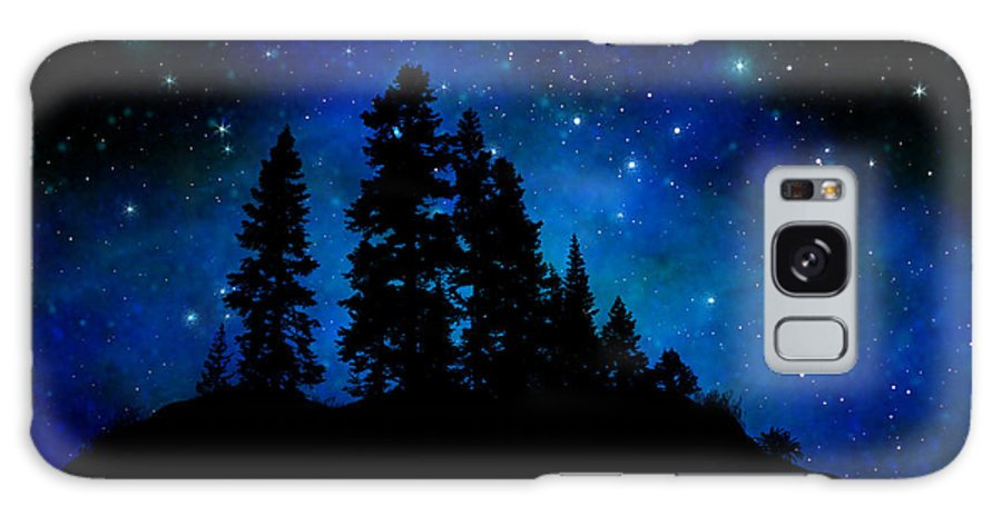 Sierra Foothills Wall Mural Galaxy S8 Case featuring the painting Sierra Foothills Wall Mural by Frank Wilson