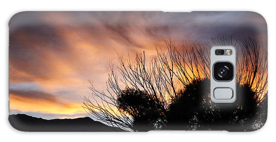 Sierra Galaxy S8 Case featuring the photograph Sierra Sunset by Newman Artography