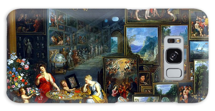Abundance Galaxy S8 Case featuring the painting Sight And Smell by Jan the Elder Brueghel