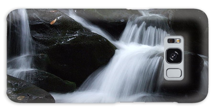 Baskins Creek Galaxy S8 Case featuring the photograph Silky Waterfall by Steven Ellis