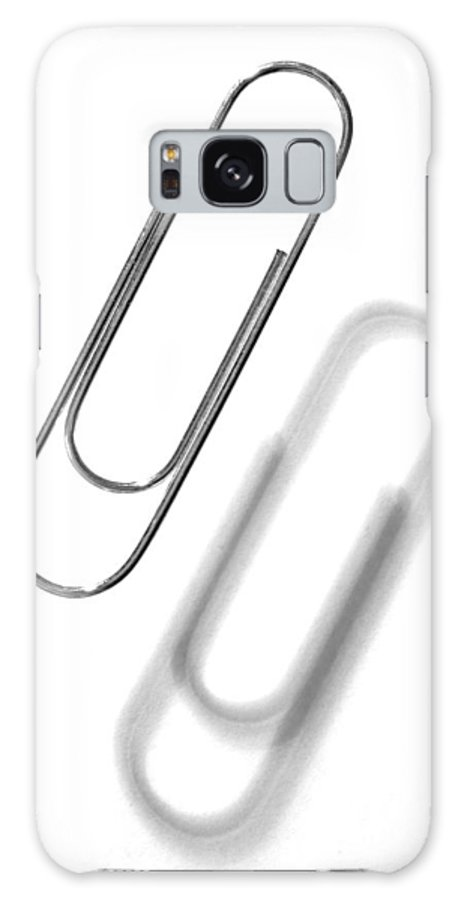 Paper Clip Galaxy S8 Case featuring the photograph Simple Genius Paperclip 1 by Scott Campbell