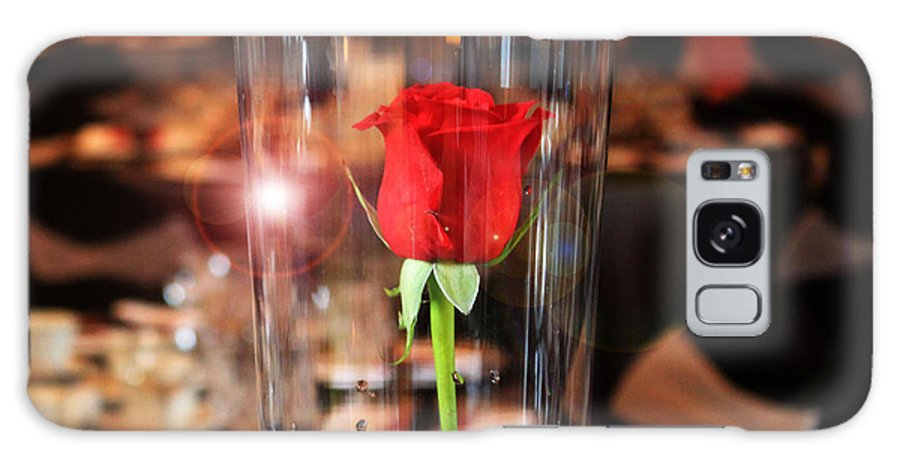 Rose Galaxy S8 Case featuring the photograph Single Rose by Stephanie Leidolph