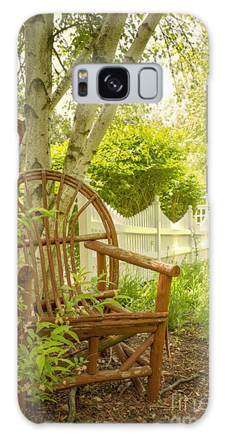 Chair Galaxy S8 Case featuring the photograph Sit For A While by Margie Hurwich
