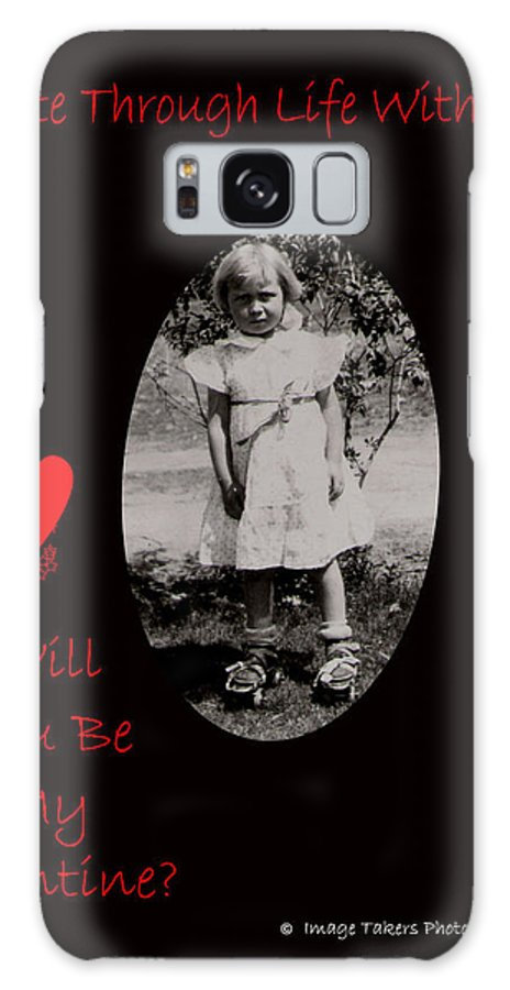 Valentine's Day Galaxy S8 Case featuring the photograph Skate Through Life by Image Takers Photography LLC - Carol Haddon