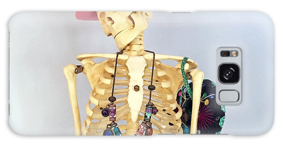 Skeleton Galaxy S8 Case featuring the photograph Skeleton. by Eduardo De Moya