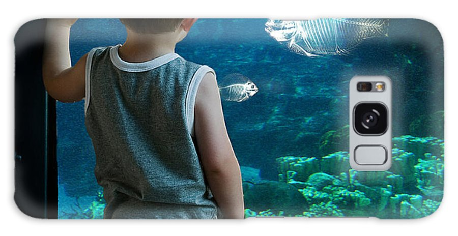 Digital Galaxy S8 Case featuring the photograph Skinny Fish by Rick Mosher