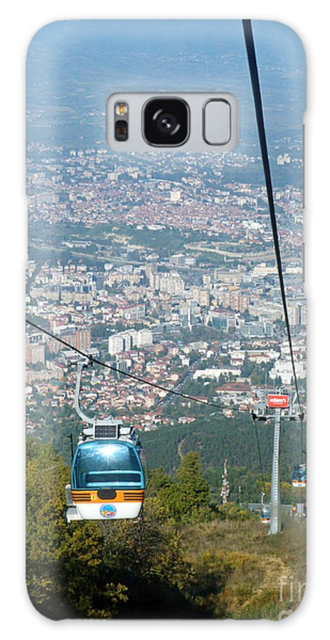Skopje Galaxy S8 Case featuring the photograph Skopje From The Cablecar by Phil Banks