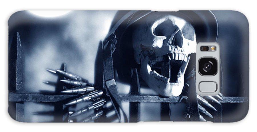 Skull Galaxy S8 Case featuring the photograph Skull by Tony Cordoza