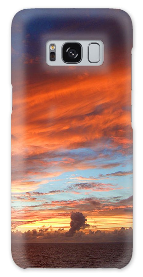 Sky Galaxy S8 Case featuring the photograph Sky by Keith Eisenstadt