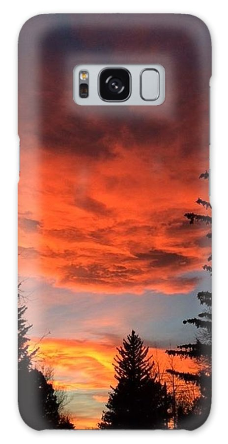 Galaxy S8 Case featuring the photograph Skyfire by Traci Willingham