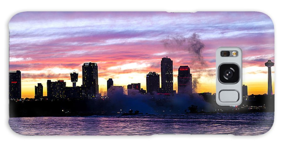 Landscape Galaxy S8 Case featuring the photograph Skyline-27 by Allan Hillman