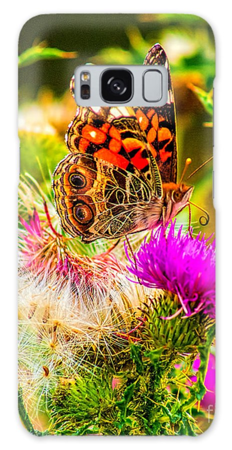 Animal Galaxy S8 Case featuring the photograph Skyline Butterfly by Nick Zelinsky