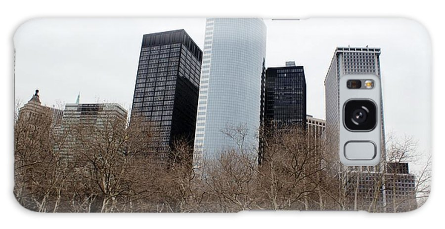 New York Galaxy S8 Case featuring the photograph Skyscrapers Of The Battery by Martin Jones