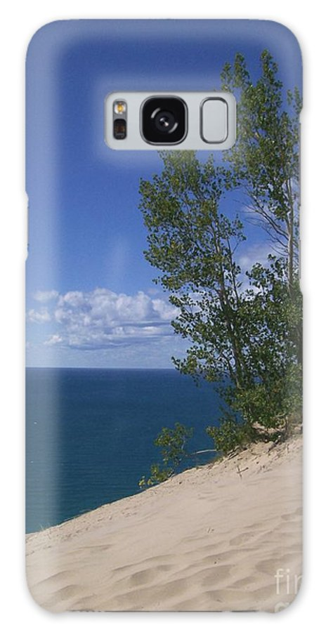 Dune Galaxy S8 Case featuring the photograph Sleeping Bear Dunes by Laurie Eve Loftin