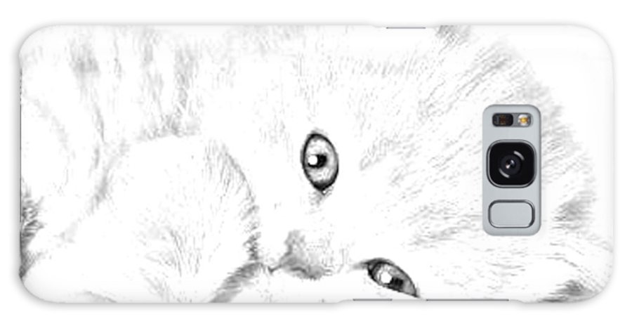 Animal Galaxy S8 Case featuring the photograph Sleepy Kitty by J D Owen