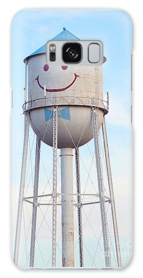 Landmark Galaxy S8 Case featuring the photograph Smiley The Water Tower by Steve Augustin