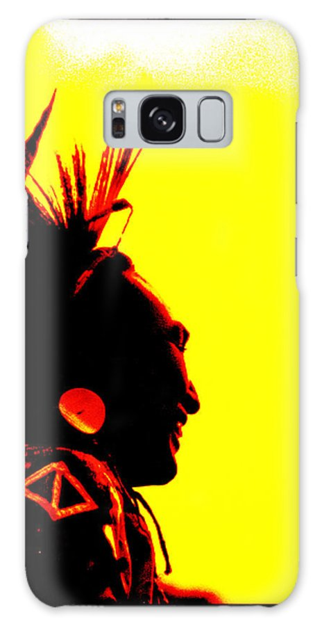 Taos Pueblo Powwow Galaxy S8 Case featuring the photograph Smiling Brother by Susanne Still