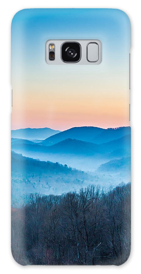 Mountain Galaxy S8 Case featuring the photograph Smokey Mountain Rising by John Oliver