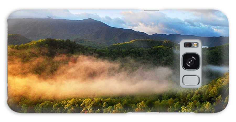 Mountains Galaxy S8 Case featuring the photograph Smokies At Sunrise by Nancy Mueller