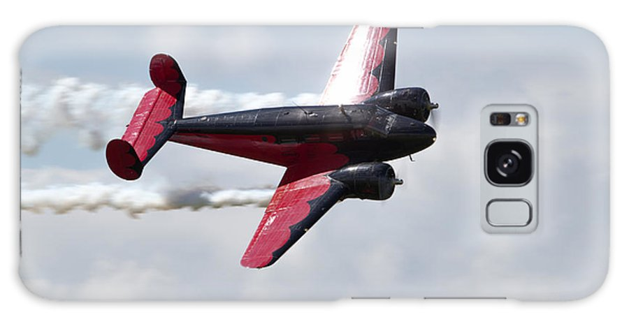 Airshow Galaxy S8 Case featuring the photograph Smoking 18 by Martin Brassard