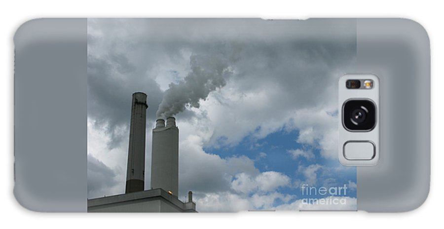 Smoke Stack Galaxy S8 Case featuring the photograph Smoking Stack by Ann Horn