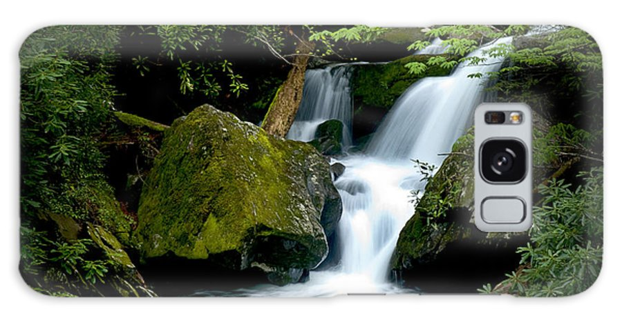Water Galaxy S8 Case featuring the photograph Smoky Mountain Falls by Paul W Faust - Impressions of Light