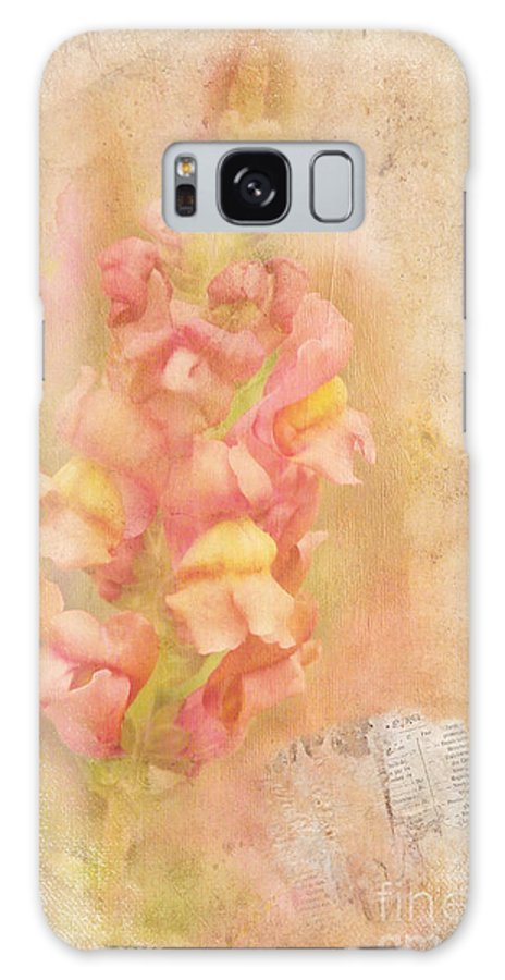 Snapdragons Galaxy S8 Case featuring the photograph Snapdragons by Judi Bagwell