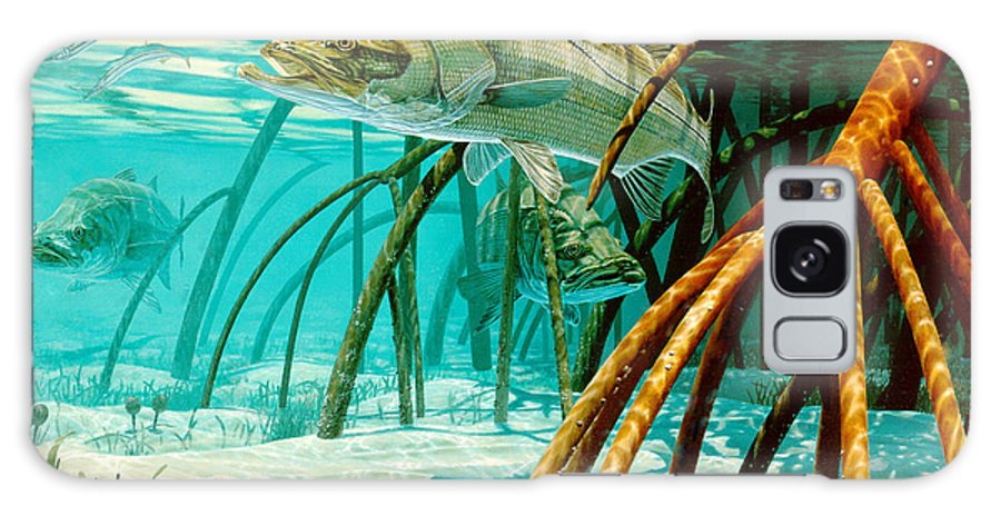 Snook In The Mangroves Galaxy S8 Case featuring the painting Snook In The Mangroves by Don Ray