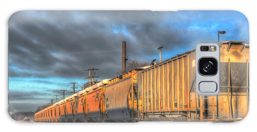 Train Galaxy S8 Case featuring the photograph Snow Train by William Reek