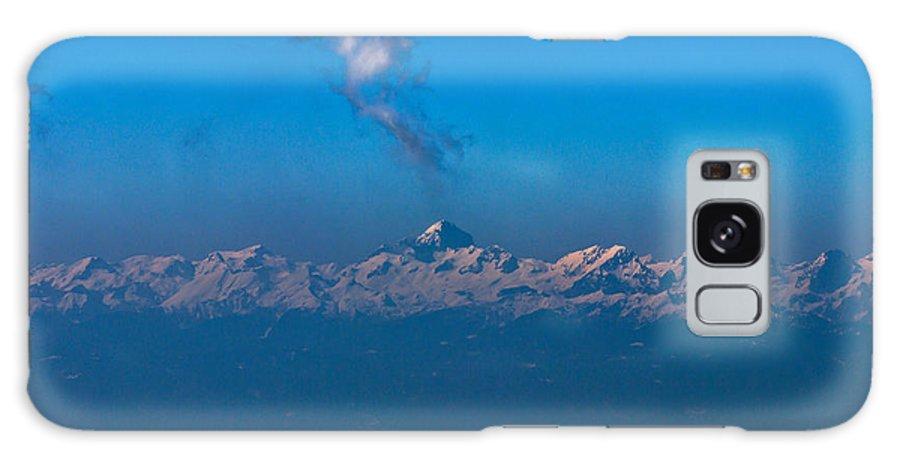 Landscape Galaxy S8 Case featuring the photograph Snowcanic Ash Cloud by Dejan Pleterski
