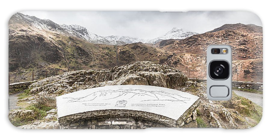 Christinesmart Galaxy S8 Case featuring the photograph Snowdonia Viewpoint 2 by Christine Smart