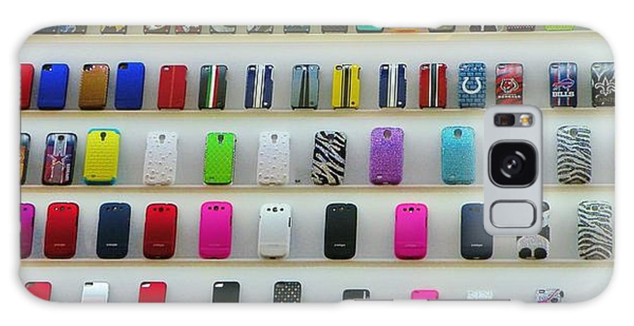 Iphone Galaxy S8 Case featuring the photograph So Many Iphone Cases by Christina Stanley