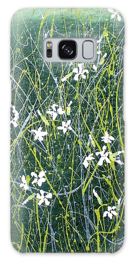 Soapwort Galaxy S8 Case featuring the painting Soapwort by Marilee OGorman