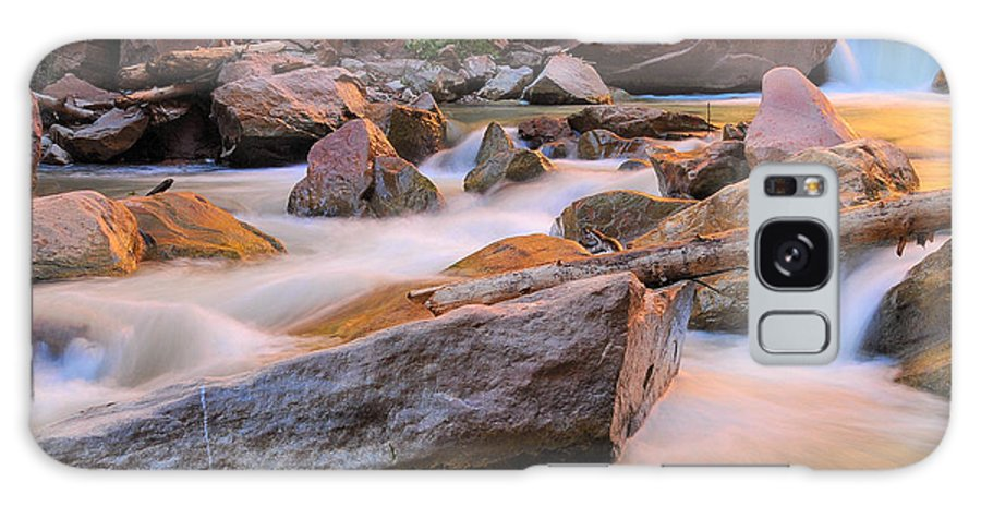 River Galaxy S8 Case featuring the photograph Soft And Tranquil by Jim Southwell