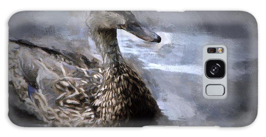 Duck Galaxy S8 Case featuring the digital art Solo Voyage by Patti Parish