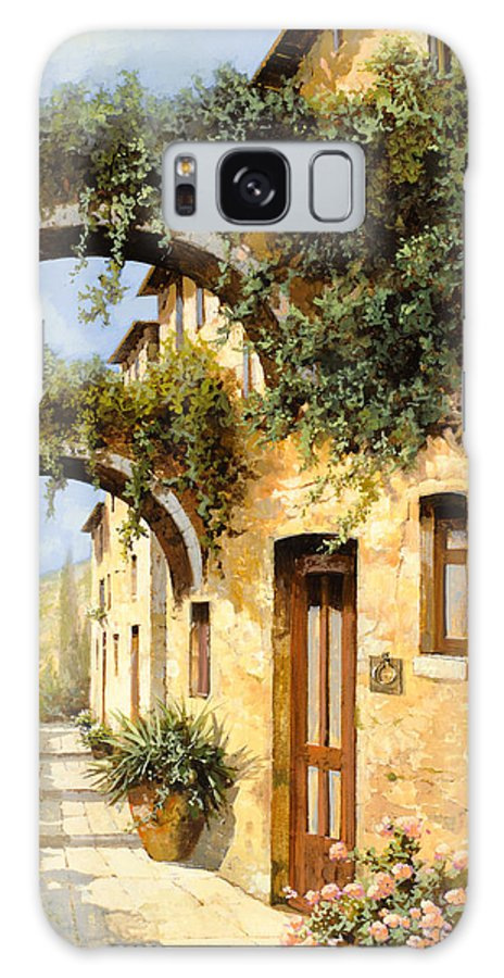 Arch Galaxy S8 Case featuring the painting Sotto Gli Archi by Guido Borelli