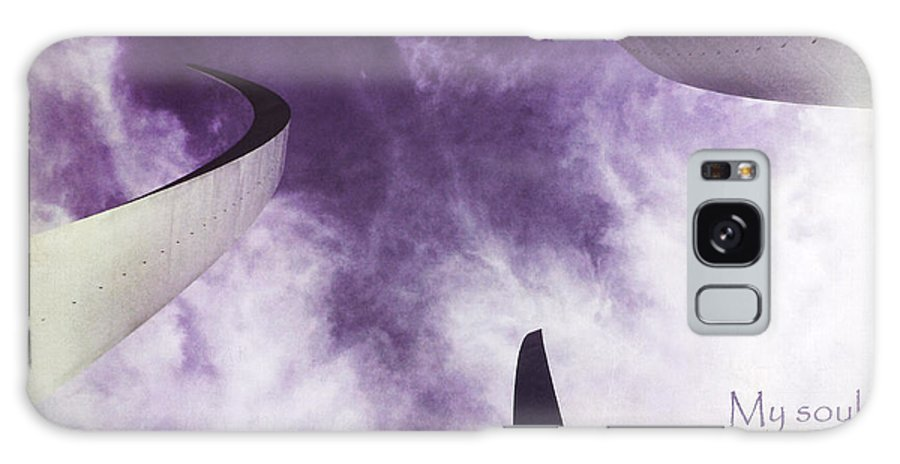 Julia Springer Galaxy S8 Case featuring the photograph Soul In The Sky - Us Air Force Memorial by Julia Springer