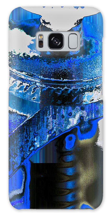 Parts Galaxy S8 Case featuring the digital art Sounder In Blue by William Durfey
