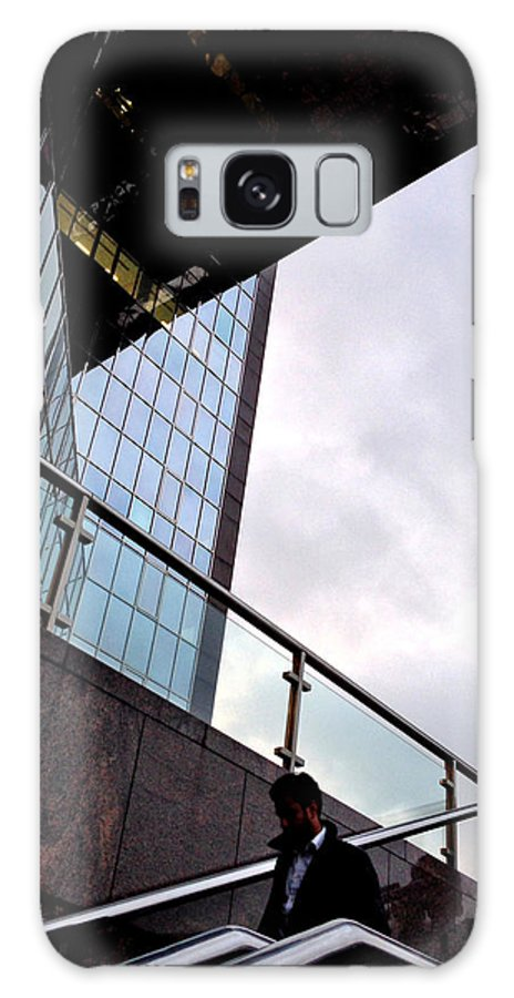South Galaxy S8 Case featuring the photograph South Bank City Reflections No.2 by Gordon James