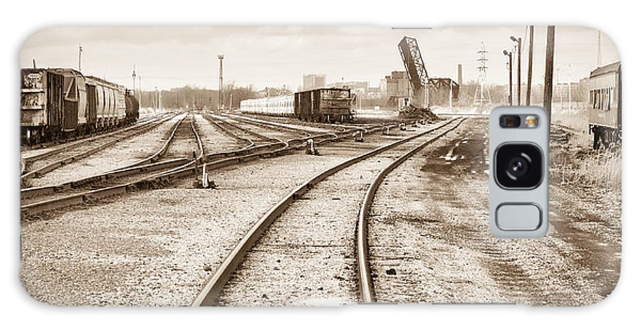 Bridge Galaxy S8 Case featuring the photograph South Buffalo Yards by Guy Whiteley