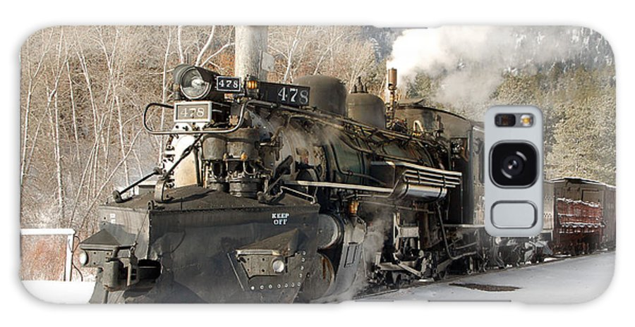 Steam Train Galaxy S8 Case featuring the photograph Southbound Through Rockwood by Ken Smith
