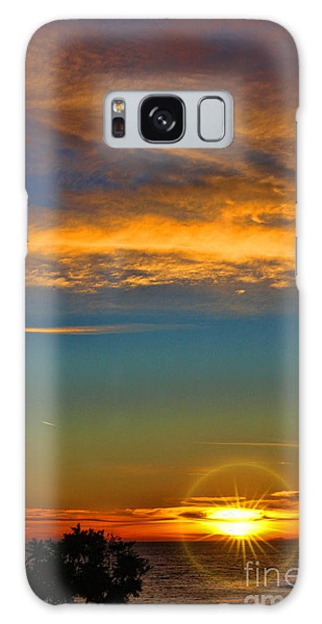 Southern California's Galaxy S8 Case featuring the photograph Southern California's Wafarers Chapel 5 by Tommy Anderson