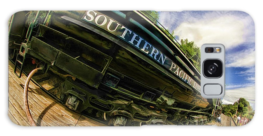 Southern Pacific 2472 Steam Engine Galaxy S8 Case featuring the photograph Southern Pacific 2472 Steam Engine 1921 Sunol Station by Blake Richards