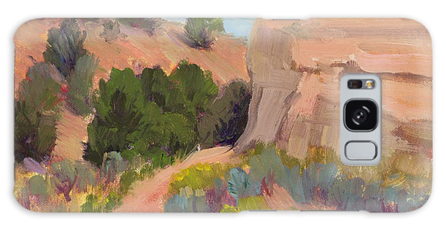 Southwest Landscape Galaxy S8 Case featuring the painting Southwest Delight by Suzanne Elliott