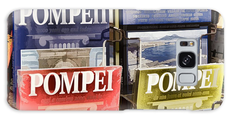 Pompei Galaxy S8 Case featuring the photograph Souvenirs Of Pompei by Jon Berghoff